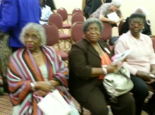 Claire Brown, Charleston, SC, Deloris Duncan and Ernestine Porter, Moncks Corner, SC1