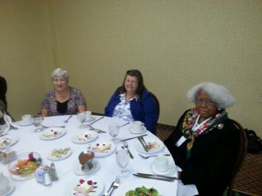 Susan Higham and Beverly Reese, Philadelphia, PA; and Naomi Gadsden, Pineville, SC