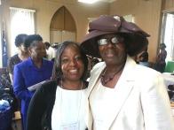 Sisters Alisha Howard and Linda Garnett