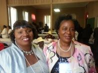 Sisters-in-Law Debra Shaw and Doris Shaw
