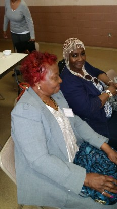 Betty Lassiter and Lela Jackson, New Redeemer REC, NJ
