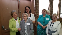 Diane Wright, Greda Petrescu, Saralee Czajkowski, Jan Gillin, Diane Neels and Delores Forrest, NJ, PA, and MD