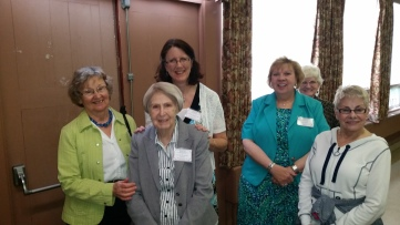 Diane Wright, Greda Petrescu, Saralee Czajkowski, Jan Gillin, Diane Neels and Delores Forrest, NJ, PA, and MD