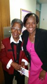 Elaine Simmons, RE Church of the Messiah and Ebony Holloway, RE Church of the Atonement, PA