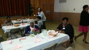 First time Women's Day Project Luncheon Attendee, Anita Barnes, New Redeemer REC, NJ