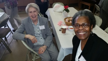 Gerda Petrescu, Saint Luke's REC, NJ and Francene Edwards, Saint Luke's REC, SC
